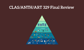 CLAS/ANTH/ART 329 Final Review