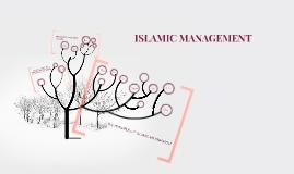 Copy of ISLAMIC MANAGEMENT