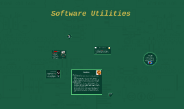 Software Utilities