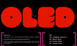 Copy of OLED Final Presentation