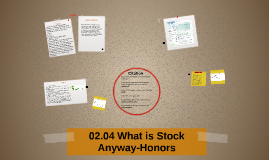 02.04 What is Stock Anyway Honors