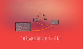 The Roman Republic: 65-61 BCE