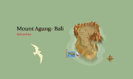 Mount Agung- Bali