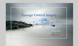 Copy of Damage control surgery