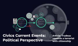 Civics Current Events: Political Perspective