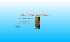 EL ARTE CLÁSICO Diego y Idaira ;)