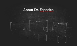 About Dr. Esposito