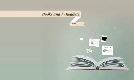 Books and E-Readers