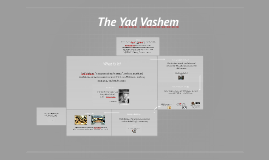 The Yad Vashem