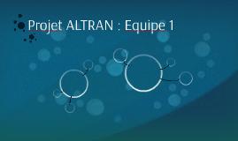 Projet ALTRAN : Equipe 1