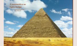 A matemática no Egito Antigo