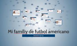 Mi familia del fútbol americano