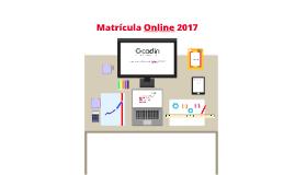 Comparativo Matrícula Online