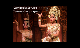 Cambodia Service Immersion Program 2019