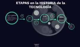 ETAPAS en la HISTORIA