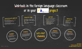 Webtools in the foreign language classroom