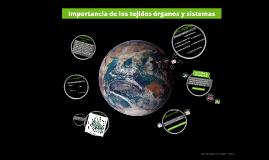 Importancia de los tejidos órganos y sistemas