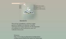 Copy of Copy of NCATE Standards