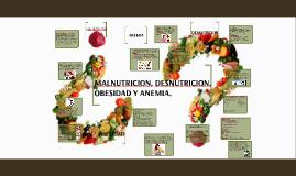 MALNUTRICION, DESNUTRICION Y OBESIDAD