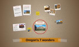 Oregons 7 wonders