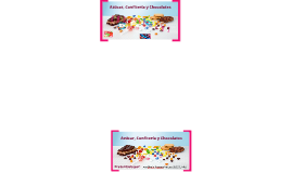 Azúcar, Confitería y Chocolatería