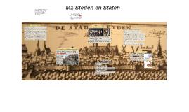 M1 Steden en Staten