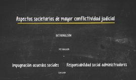 Copy of Aspectos societarios de mayor conflictividad judicial