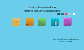 Copy of Violencia familiar y envejecimiento
