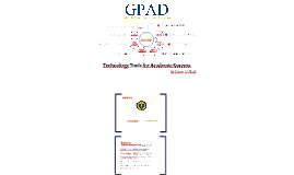 Technology Tools for Academic Success  - GPAD Spring 2016