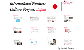 International Business Culture Project: Japan