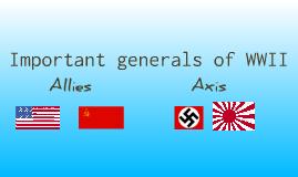 WW2 generals