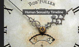 Human Sexuality Timeline