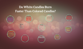 Do White Candles Burn Faster Than Colored Candles by Navi Sangha ...