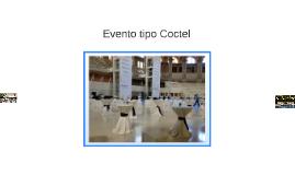 Evento tipo Coctel