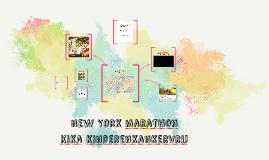 New York marathon - Kika kinderenkankervrij