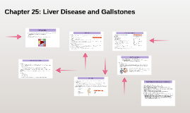 Chapter 25: Liver Disease and Gallstones