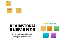 Free Brainstorming Elements by Tim Stranack