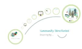 Community Directory - ALGIM ICT Award Entry