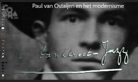 Paul van Ostaijen en het modernisme