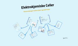 Galvaniske celler