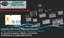 2016-2017 Capital High School Community Presentation