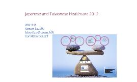 Japan & Taiwan Healthcare 2012