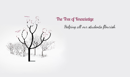 The Tree of Knowledge: Helping all our students flourish