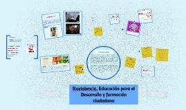 Noviolencia, educación para el desarrollo y formación ciudad