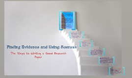 Finding Evidence and Using Sources: Chapters 18 and 20/OU