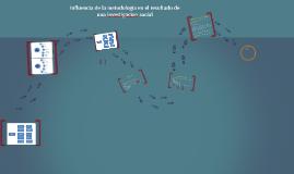 Copy of Influencia de la metodología en el resultado de una investig