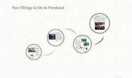 Fun Things to Do in Portland