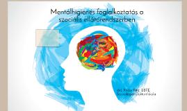 Mentálhigiénés foglalkoztatás a szociális ellátórendszerben