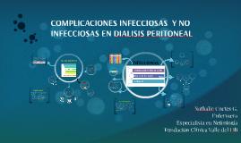 COMPLICACIONES INFECCIOSAS  Y NO INFECCIOSAS EN DIALISIS PER