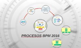 ROADMAP BPM 2016